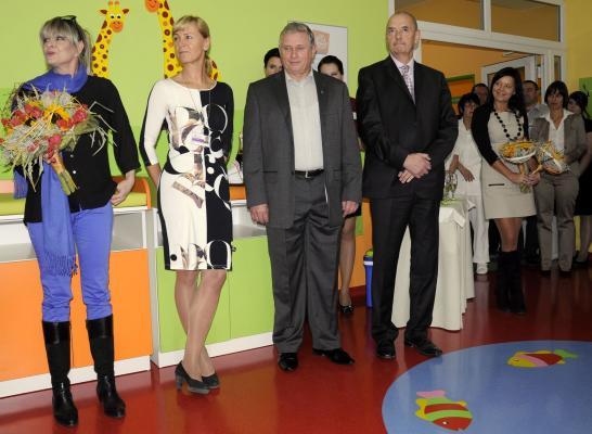 Chantal předala dětem v Nemocnici Blansko zmodernizované prostory