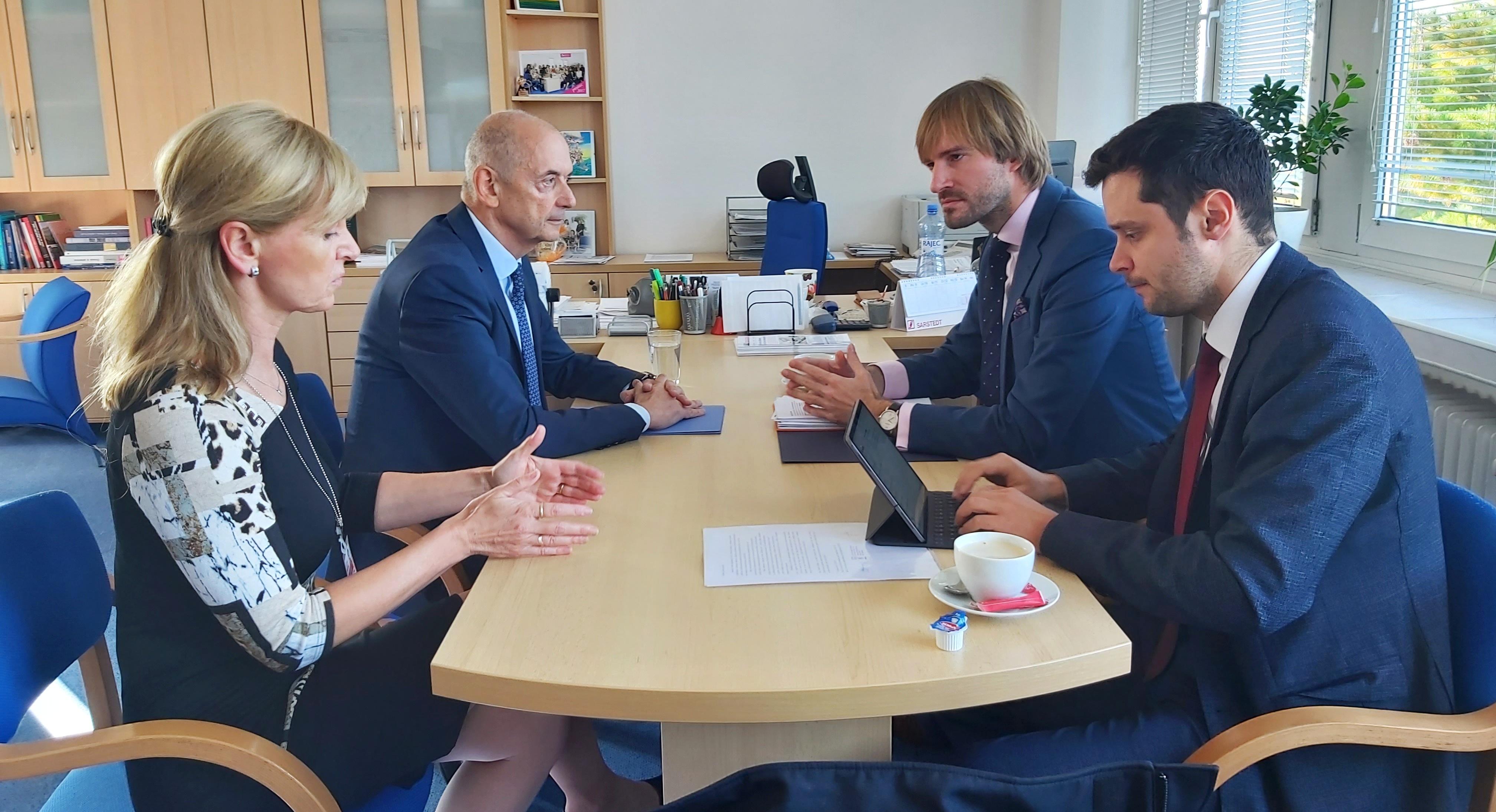 Ministr zdravotnictví navštívil Nemocnici Blansko