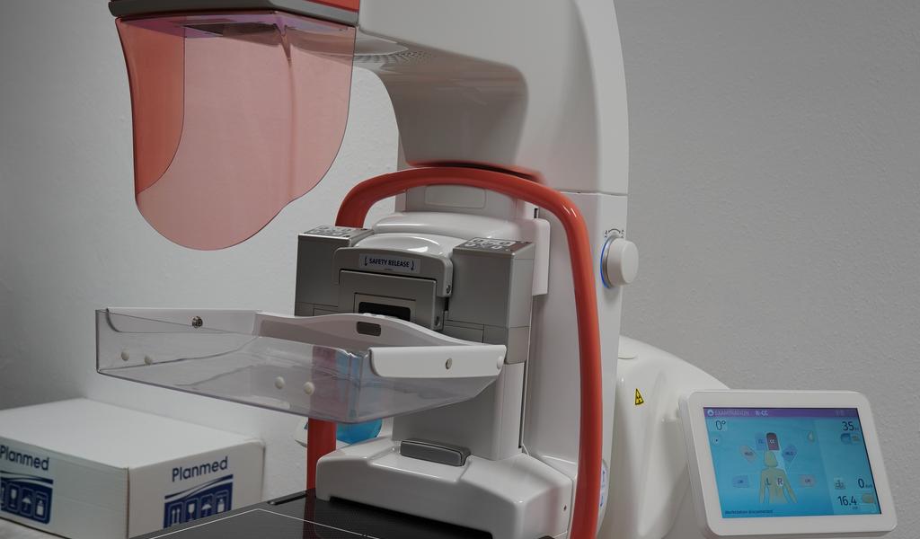 Pacienty vyšetří nový mamograf