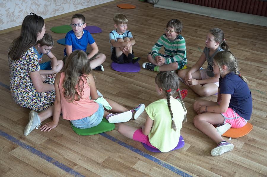 Učily se se zvířátky. Příměstský logo tábor Nemocnice Blansko nadchl děti i rodiče.